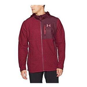 Under Armour men's cold gear fleece full zip XXL